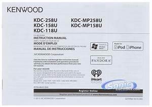 Wiring Diagram Kenwood Kdc 258u