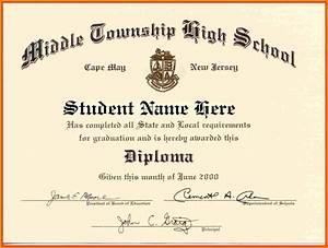 high school diploma template word free download With high school diploma templates for free