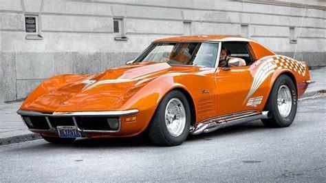 Cars Orange Muscle Cars Corvette Widescreen 1920x1080