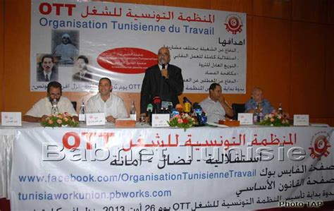 bureau du travail tunisie tunisie création de l 39 organisation tunisienne du travail