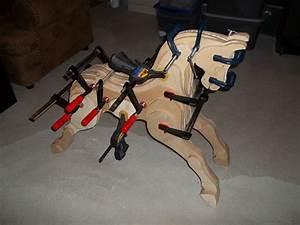 Laminated Plywood Rocking Horse - The Wood Whisperer