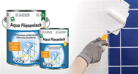 Fliesenlack Brillux by Jaeger 875 Aqua Fliesenlack 2 5 Liter 3in1 Grundierung