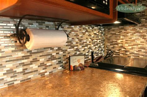 smart tiles kitchen backsplash hometalk easy backsplash makeover using smart tiles 5573