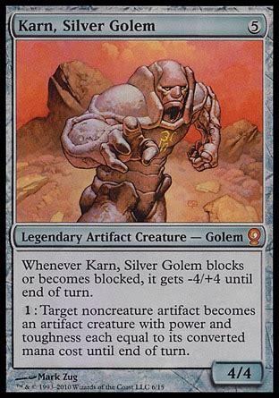 mtg golem edh deck primer karn silver golem multiplayer commander