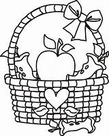 Basket Coloring Apple Pages Clip Clipart Picnic Fruit Empty Cliparts Template Outline Preschoolers Clipartmag Cartoon Popular Clipartion Coloringhome Comments sketch template