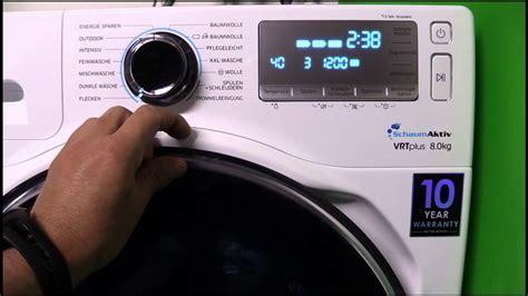 Spülmaschine Reset by Samsung Ww80h7600ew Eg Waschmaschine A A 1600 Upm