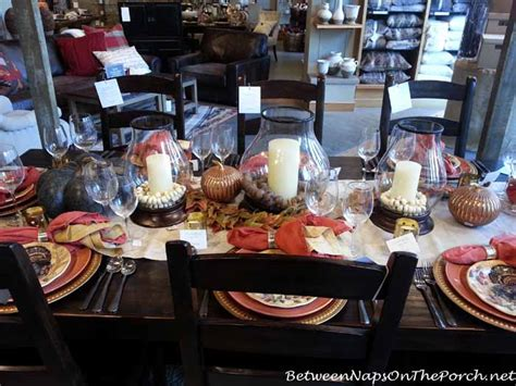 Pottery Barn Thanksgiving Plates by Thanksgiving Tablescapes With Pottery Barn
