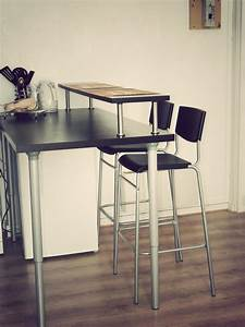 Kitchenette Pour Bureau : bar d appartement ikea table de lit ~ Premium-room.com Idées de Décoration