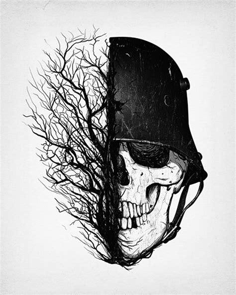 War is Over   Military tattoos, Army tattoos, Skull art
