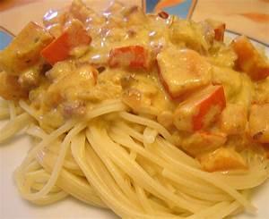 Spaghetti Mit Kürbis : spaghetti mit k rbis schinken frischk se sauce rezept mit ~ Lizthompson.info Haus und Dekorationen