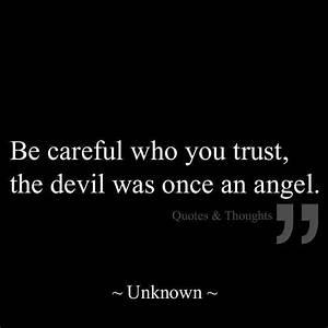 Trust Nobody Quote | Quote Number 682916 | Picture Quotes