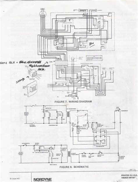 Coleman Furnace Thermostat Wiring Diagram by Coleman 7900 Gas Furnace Wiring Coleman Furnace Wiring