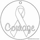 Cancer Breast Ribbon Coloring Pages Pink Printable Drawing Awareness Colors Ribbons Sheets Relay Template Getdrawings Squidoo Colorings Silhouette Drawings Designlooter sketch template