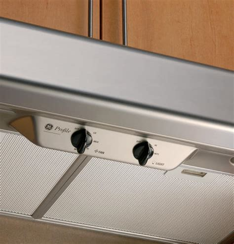 ge profile   performance vent hood manuel joseph appliance center
