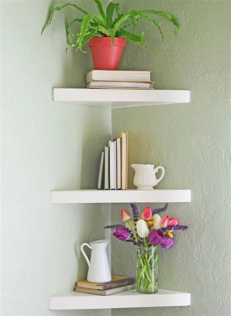 elegant floating diy shelves diyideacentercom