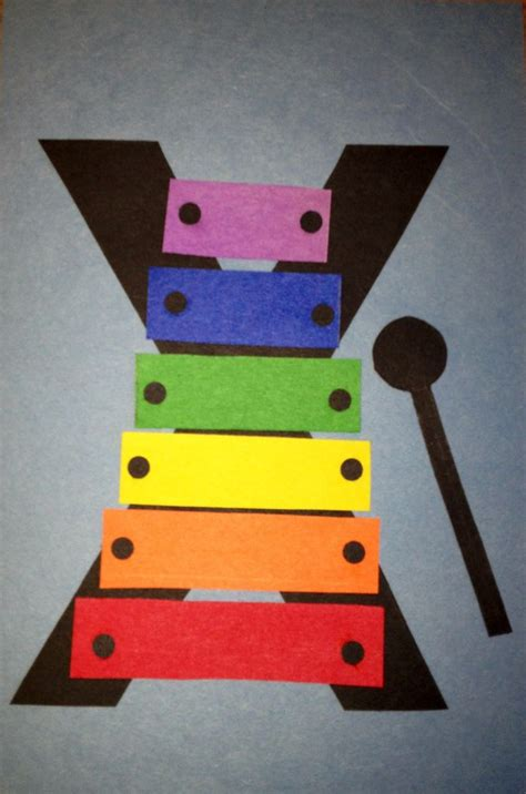 preschool letter x craft preschool letter crafts