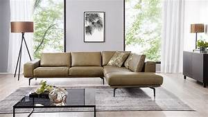 W Schillig : ecksofa w schillig 23650 echtes leder in olivegr n ~ Watch28wear.com Haus und Dekorationen