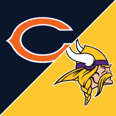 bears  vikings game summary december   espn
