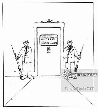 Lawyer Corporate Law Commercial Legal Solicitor Cartoon