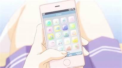 Phones Smart Flip Anime Phone Crack Drop