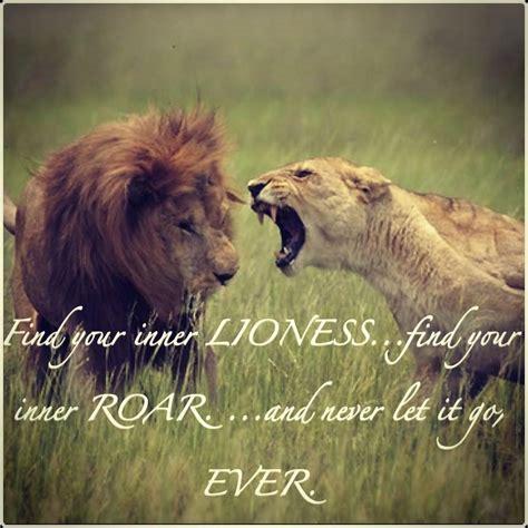 Lion to Lioness Roar Quotes Images