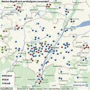 Möbelhaus München Umgebung : m nchen und umgebung von juliamatzen landkarte f r die welt ~ Orissabook.com Haus und Dekorationen