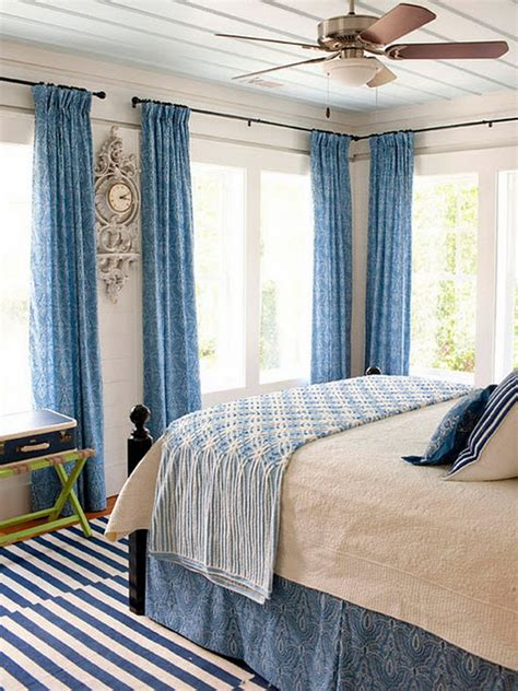 Blue Bedroom Interior Designs White And Blue Bedroom