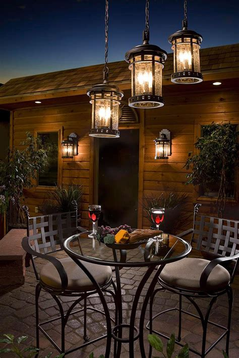 beautiful patio lighting ideas  inspire