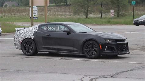 Entire 2019 Camaro Lineup Spied, Including New Zl1 [51 Photos]