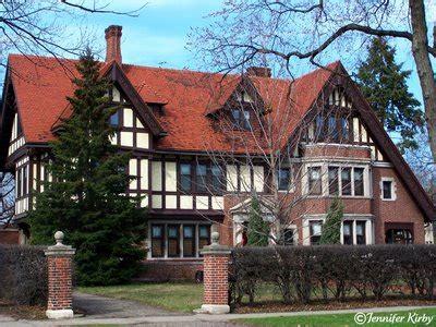 tudor revival mansion  summit avenue historic homes
