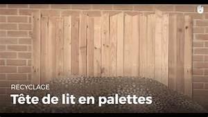 Fabriquer Une Tête De Lit : fabriquer une t te de lit en palette recycler youtube ~ Dode.kayakingforconservation.com Idées de Décoration