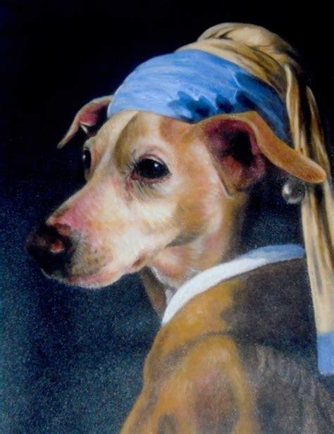 dog paintings  youve   splendid beast