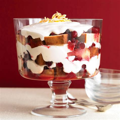 cranberry trifle recipe martha stewart