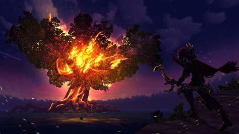 Sylvanas Animated Wallpaper - sylvanas windrunner tree world of warcraft hd