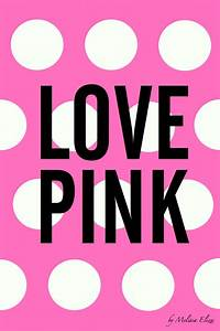 Victoria Secret Love Pink Background | Love Pink - iPhone ...