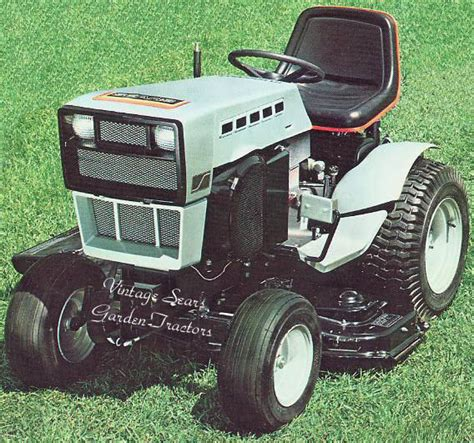 sears garden tractors early craftsmans or not mytractorforum the