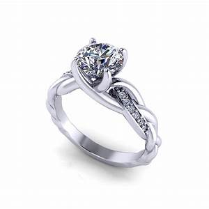braided diamond engagement ring jewelry designs With braided wedding ring