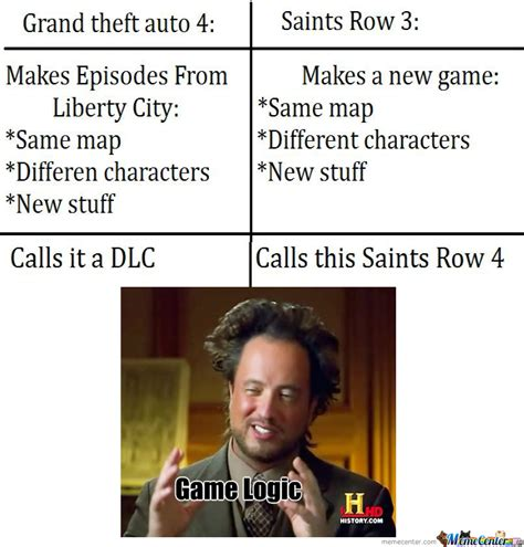 Game Logic Meme - game logic by theveryloldude123 meme center