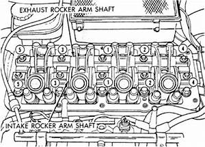 Cylinder Head Torque Specifications Four Cylinder Front