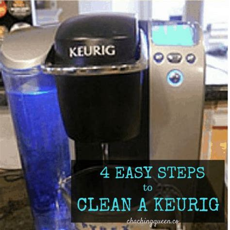 How To Clean A Keurig Coffee Maker With Vinegar Cha Ching Queen In 2020 Cleaning Hacks