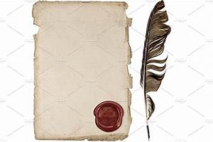 Feather Pen And Paper PNG Transparent Feather Pen And ...