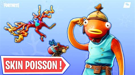 fortnite nouveau skin poisson fortnite mobile tracker