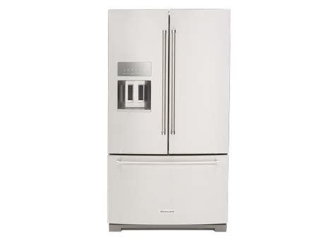 Kitchenaid Refrigerator Reliability by Kitchenaid Krff507ess Refrigerator Specs Consumer Reports