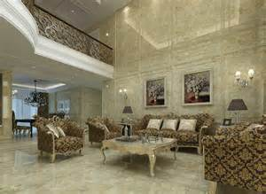 home drawing room interiors drawing room interiors european style villa 3d house