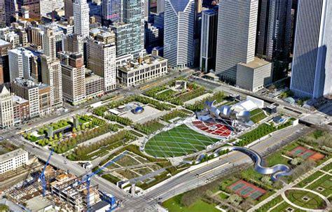 history of millennium park chicago sites