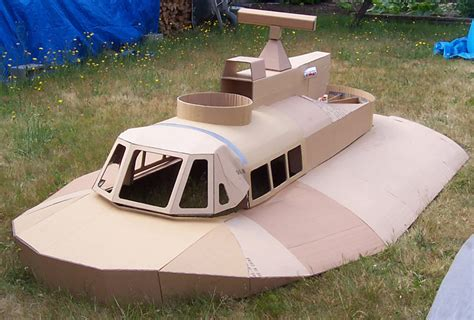 Cardboard Boat Test by My Repeated Forays Into Cardboard Boatbuilding Tactical