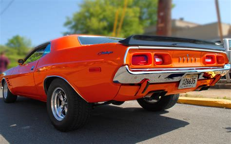 Classic Car Wallpapers 1600 X 900 Hd by Dodge Challenger Classic Car Wallpaper Best Hd Wallpapers