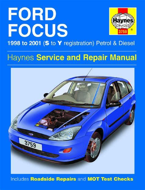 haynes manual ford focus petrol diesel