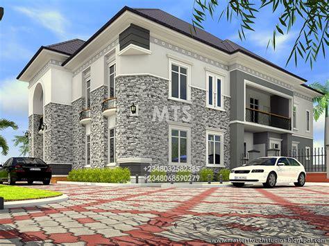 godstime  bedroom duplex modern  contemporary nigerian building designs