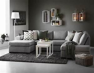 25 best ideas about grey sofa decor on pinterest sofa With incroyable papier peint couleur taupe 7 salle de bain bleu marine et orange